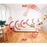Film carbone chauffant mur et plafonds 185w