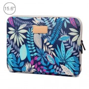 Lisen 15.6 inch Sleeve Case Ethnic Style Multi-color Zipper Briefcase Carrying Bag For Macbook Samsung Lenovo Sony DELL Alienware CHUWI ASUS HP 15.6 inch and Below Laptops(Blue)