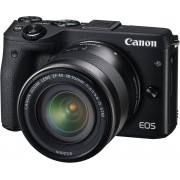 Canon EOS M3 + 18-55mm IS STM - Zwart