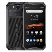 "UleFone Armor 3W Teléfono Celular Resistente Desbloqueado, Resistente Android 9.0 IP68 5.7"" Helio P70 6G+64G10300mAh 4G Dual SIM, Gris"
