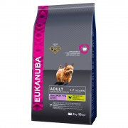 Eukanuba Adult Small Breed csirke - 2 x 7,5 kg
