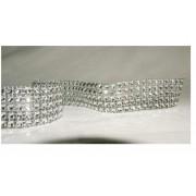 5 ROW DIAMONTIE EFFECT RIBBON 1 MTR