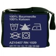 Wash Care 2910 Digitally Printed Laptop Messenger Bag