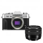Fujifilm X-T30 Aparat Foto Mirrorless Kit cu Obiectiv 15-45mm Silver