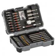 Bosch - 2607017164 - Set capete de insurubare si chei tubulare, -, 43 bucati, prelungitor insurubare inclus