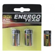 Baterii Litiu Energoteam CR123 3V (2buc)