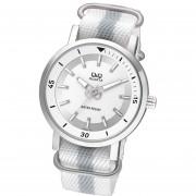 Reloj Q&Q Q892J311Y - Blanco Malla Textil Nylon