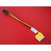 Cablu Molex IDE tata PCI-E 6 pini 25cm