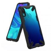 Husa Premium Ringke Fusion X Anti-shock Huawei P Smart 2019 Transparent Negru
