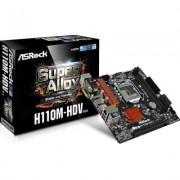 ASRock H110M-HDV s1151 H110 2DDR4 USB3.0 uATX