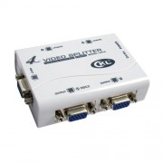 VGA spliter CKL-1041U 1-IN/4-OUT bandwidth 250MHz, 1920x1440p, extend the signal up to 65m, USB Power