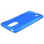Wave Case for LG K8 (2017) - LG Soft Cover (Blue)