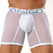 Gigo TULL Long Boxer Underwear White