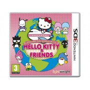 Unbranded Nintendo 3ds - hello kitty & friens spel around the world with