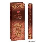 Bețișoare parfumate HEM - Amber Sandal