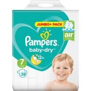 Pampers Baby Dry Luiers - Maat 7 - 58 Stuks