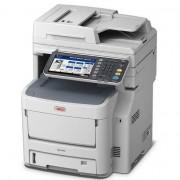 Impressora OKI Multifunções LED Laser a Cores c/ Fax A4 - MC760DNVFAX