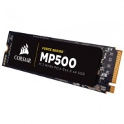 Диск ssd corsair force mp500 series nvme (pcie slot) m.2 ssd 480gb, cssd-f480gbmp500