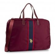 U.S. Polo Assn. Torba U.S. POLO ASSN. - Patterson Web Travel Bag BIUPW0634WIP/444 Wine