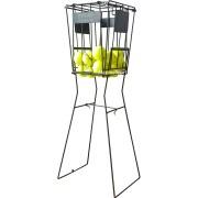 Кош на стойка за топки за тенис на корт