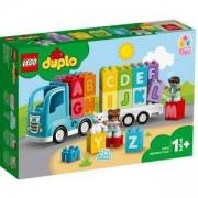 Конструктор ЛЕГО ДУПЛО - Азбучен камион, LEGO DUPLO My First 10915