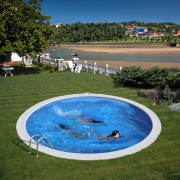 Басейн за вкопаване Gre 420x150 cм, кръг