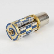 Ampoule LED BA15S 1156 Canbus 8 leds GOLD