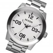 Reloj Nixon A346100 Corporal Ss -Plateado