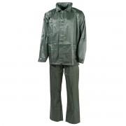 MFH Costum impermeabil XXL cu gluga Verde 08301B