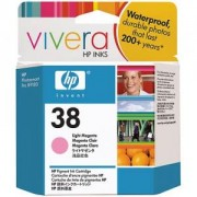 HP 38 ( C9419A ) Light Magenta Pigment Ink