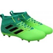 Adidas ACE 17.3 PRIMEMESH FG Football Shoes(Green, Black)