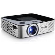 Videoproiector portabil Philips PicoPix PPX3417W, 170 lumeni, 854 x 480, Contrast 1.000:1 (Argintiu)