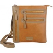 Justanned Women Casual Multicolor Genuine Leather Sling Bag