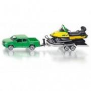 SIKU automobil sa prikolicom i motornim sankama 2548