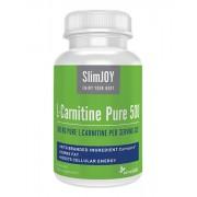 SlimJOY L-carnitina Pura 500 1+1 GRATIS - brucia grassi. Qualità svizzera. 60 capsule
