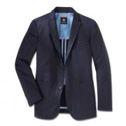 Carl Gross Pima Cotton Jacket, 48R - Dark blue