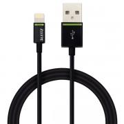 Cablu de date Leitz Complete Lightning - USB, 1 m, negru