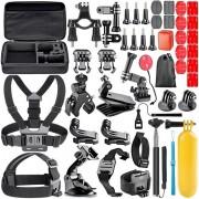 "Set 50 Accesorii GoPro Titan - Kit Accesorii GoPro ""Curajos"""