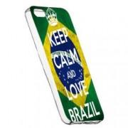 Husa de protectie Football Brazil Apple iPhone 5 / 5S / SE rez. la uzura Silicon 232