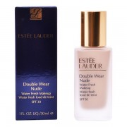 Fond de Ten Fluid Double Wear Nude Estee Lauder - Culoare 3W3 - fawn 30 ml