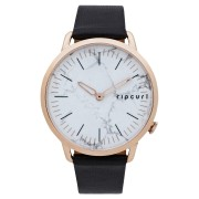 Rip Curl Super Slim Leather Watch Rose Gold