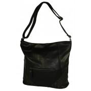 Tops Black módní crossbody kabelka černá