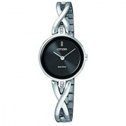Citizen Analog Black Dial Unisex Watch - EX1420-84E