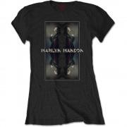 Tricou Dama Marilyn Manson: Mirrored