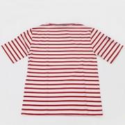 ≪SAINT JAMES≫PIRIAC半袖Tシャツ(NEIGE/TULIPE)[さっぽ店からの発送]