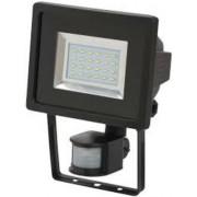 SMD-LED lampa L DN 2405 PIR IP44 infravörös mozgásérzékelovel 24x0,5W 950lm fekete Energiahatékonysági osztály A