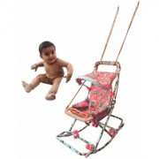 suraj baby red color 6 in 1 swing(jhula) for your kids se-sj-17