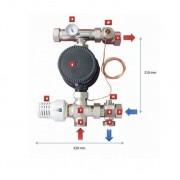Purmo kit reglare temperatura cu pompa Lowara