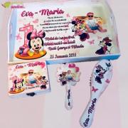 Set Moț 1 An - Pink Baby Minnie - 4 Piese