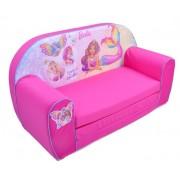 Canapea extensibila din burete Barbie - Knorrtoys